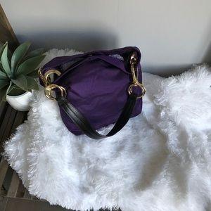 JPK Purple Satin Hand Bag